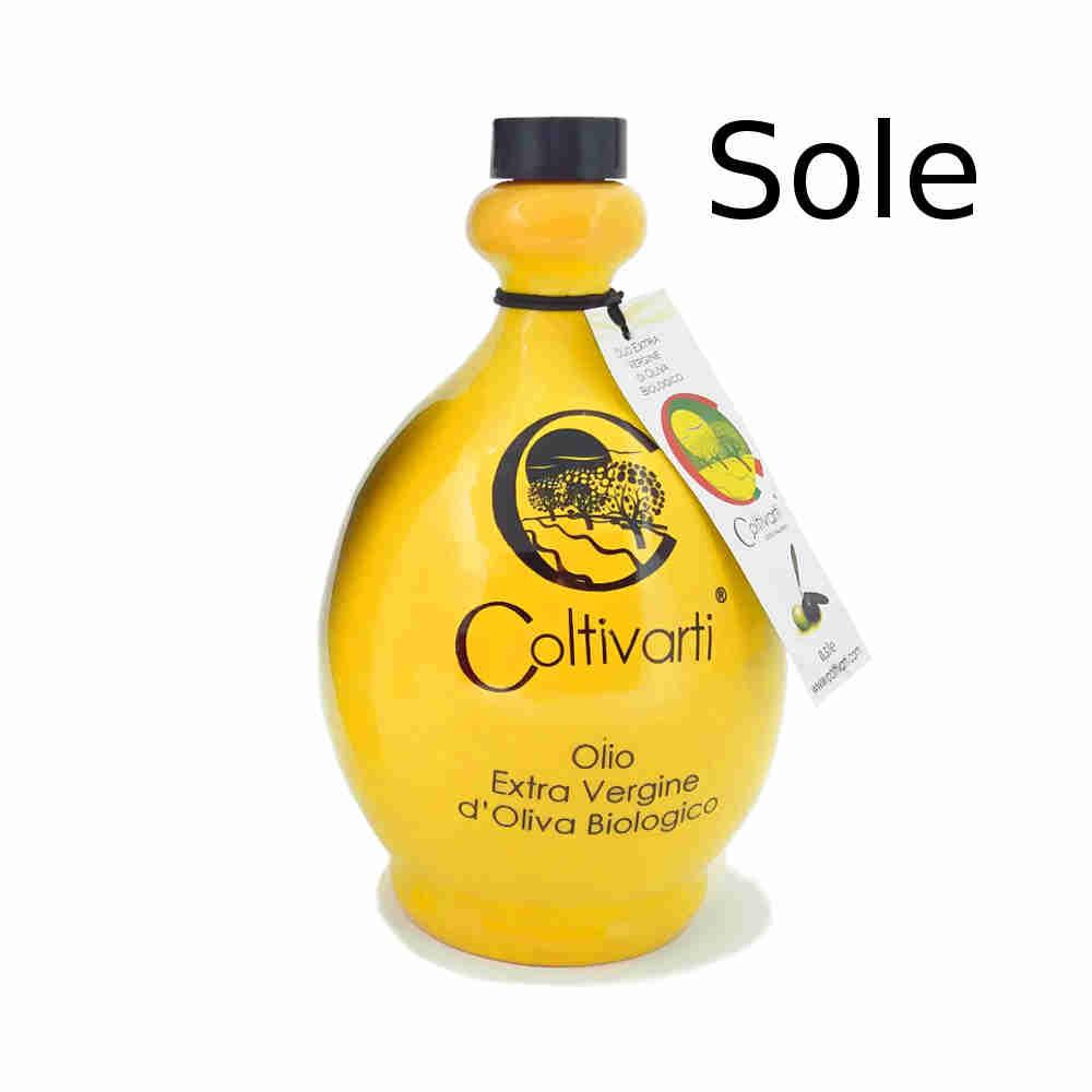 Coltivarti - olio extra vergine di oliva orcio ceramica 500ml (sole) B07VV3NF5G